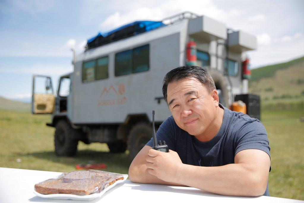 Mongolians traveler