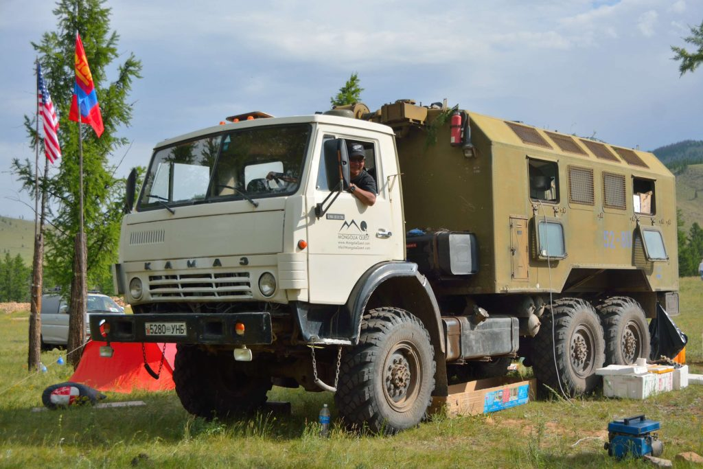 travel truck mongolia