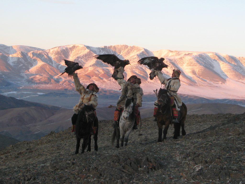 Golden eagle festival Mongolia