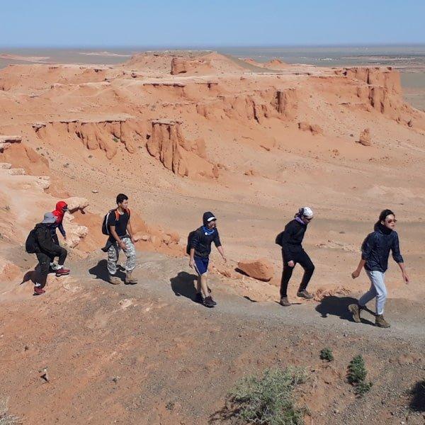 Mongolian gobi desert travel